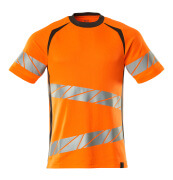 19082-771-1418 T-shirt - hi-vis orange/dark anthracite