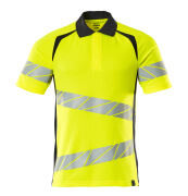 19083-771-14010 Polo shirt - hi-vis orange/dark navy