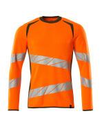 19084-781-1433 Sweatshirt - hi-vis orange/moss green