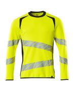 19084-781-17010 Sweatshirt - hi-vis yellow/dark navy