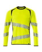 19084-781-1709 Sweatshirt - hi-vis yellow/black