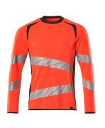 19084-781-22218 Sweatshirt - hi-vis red/dark anthracite