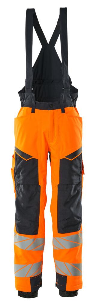 19090-449-14010 Winter Pants - hi-vis orange/dark navy