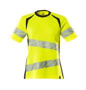 19092-771-17010 T-shirt - hi-vis yellow/dark navy
