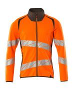 19184-781-1418 Sweatshirt with zipper - hi-vis orange/dark anthracite