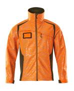 19202-291-1433 Softshell Jacket - hi-vis orange/moss green