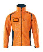 19202-291-1444 Softshell Jacket - hi-vis orange/dark petroleum