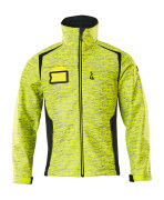 19202-291-17010 Softshell Jacket - hi-vis yellow/dark navy
