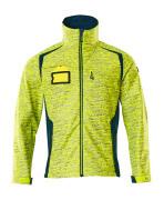 19202-291-1744 Softshell Jacket - hi-vis yellow/dark petroleum
