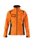 19212-291-14010 Softshell Jacket - hi-vis orange/dark navy