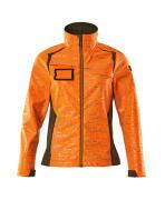 19212-291-1433 Softshell Jacket - hi-vis orange/moss green