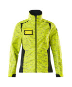 19212-291-17010 Softshell Jacket - hi-vis yellow/dark navy