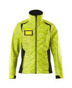 19212-291-1709 Softshell Jacket - hi-vis yellow/black