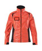 19212-291-22210 Softshell Jacket - hi-vis red/dark navy