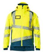 19335-231-1744 Winter Jacket - hi-vis yellow/dark petroleum