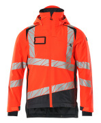 19335-231-14010 Winter Jacket - hi-vis orange/dark navy