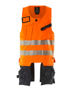 19589-711-14010 Tool Vest - hi-vis orange/dark navy