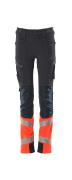 19979-311-10222 Pants for children - dark navy/hi-vis red