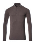 20483-961-18 Polo Shirt, long-sleeved - dark anthracite