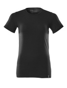 20492-786-90 T-shirt - deep black