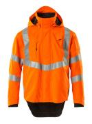 20501-231-14 Outer Shell Jacket - hi-vis orange