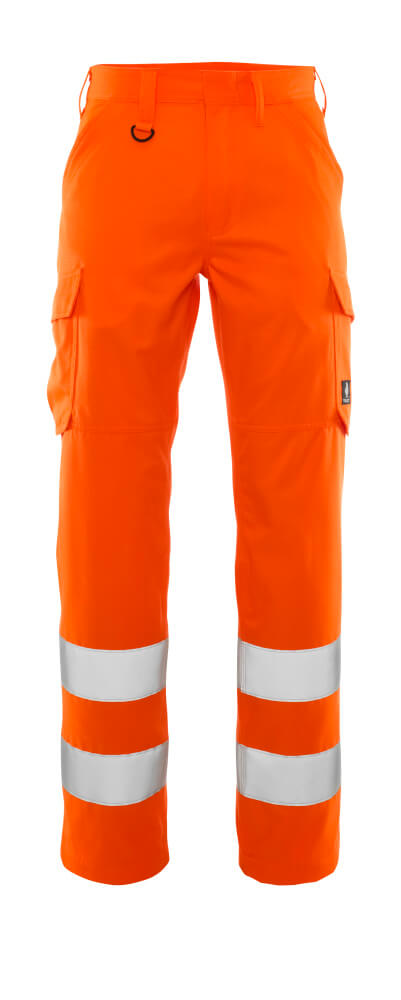 20859-236-14 Pants with thigh pockets - hi-vis orange