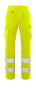 20859-236-17 Pants with thigh pockets - hi-vis yellow