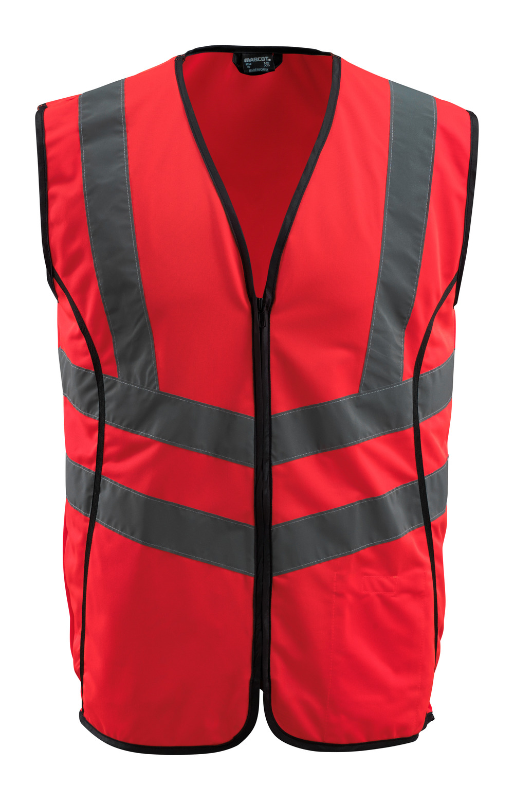 50145-982-222 Traffic Vest - hi-vis red