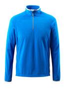 50148-239-91 Fleece Jumper with half zip - azure blue