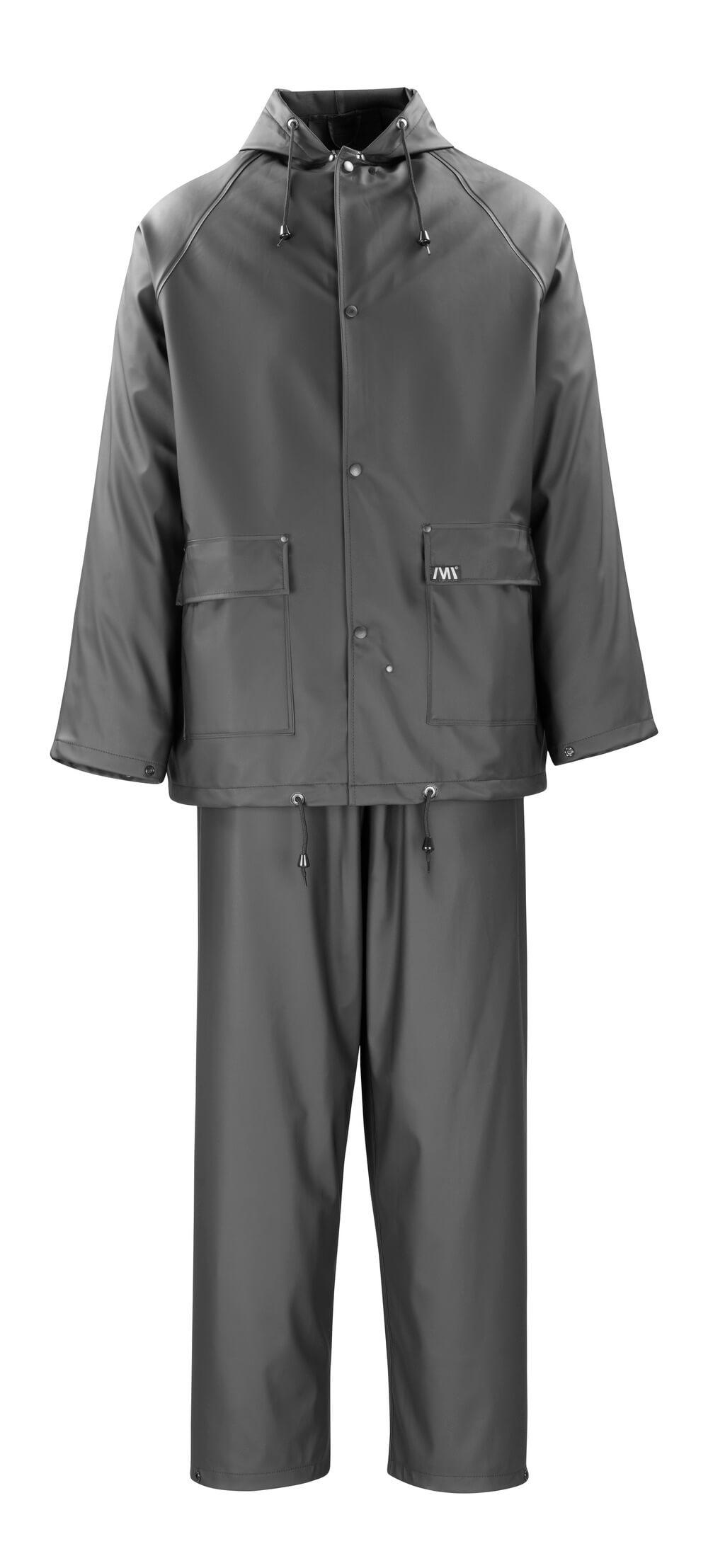 50184-873-09 Rain Jacket & Pants - black