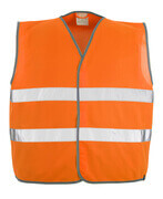 50187-874-14 Traffic Vest - hi-vis orange