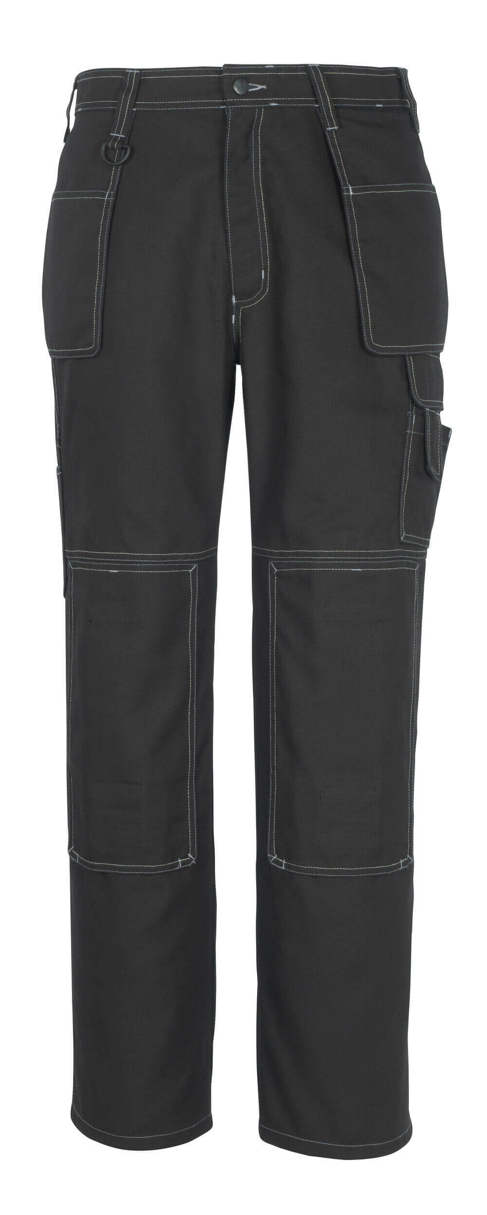 50194-884-09 Pants with kneepad pockets and holster pockets - black