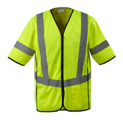 50216-310-17 Traffic Vest - hi-vis yellow
