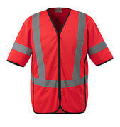 50216-310-222 Traffic Vest - hi-vis red