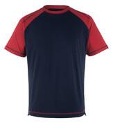 50301-250-12 T-shirt - navy/red