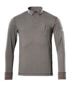 50352-833-118 Polo Sweatshirt - light anthracite