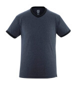 50415-250-66 T-shirt - washed dark blue denim