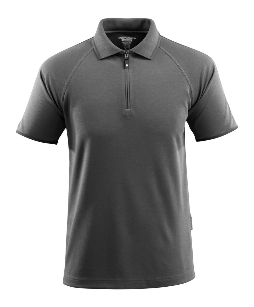50458-978-18 Polo shirt - dark anthracite