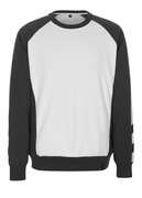 50503-830-0618 Sweatshirt - white/dark anthracite