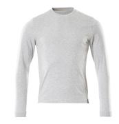 50548-250-08 T-shirt, long-sleeved - grey-flecked