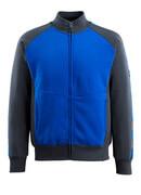 50565-963-11010 Sweatshirt with zipper - royal/dark navy