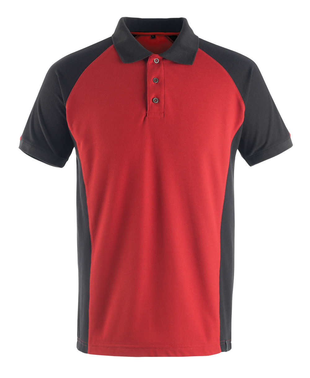 50569-961-0209 Polo Shirt - red/black