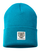 50603-974-93 Knitted Hat - petroleum