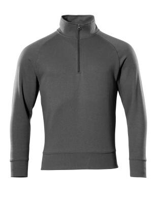 50611-971-010 Sweatshirt with half zip - dark navy