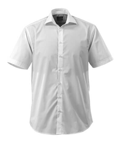 Shirt poplin, classic fit, short-sleeved