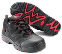 F0014-901-0902 Safety Shoe - black/red