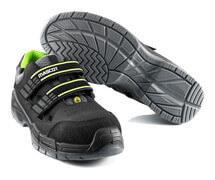 F0107-937-09 Safety Sandal - black