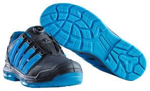F0112-909-0993 Safety Shoe - black/petroleum