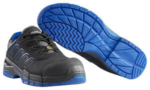 F0113-937-0911 Safety Shoe - Black/royal