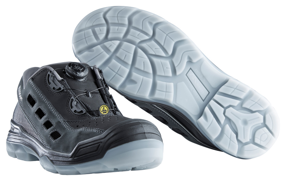 F0119-906-09888 Safety Sandal - black/anthracite
